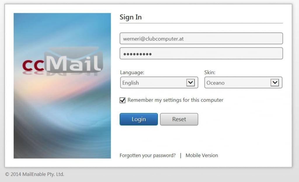 Me email login