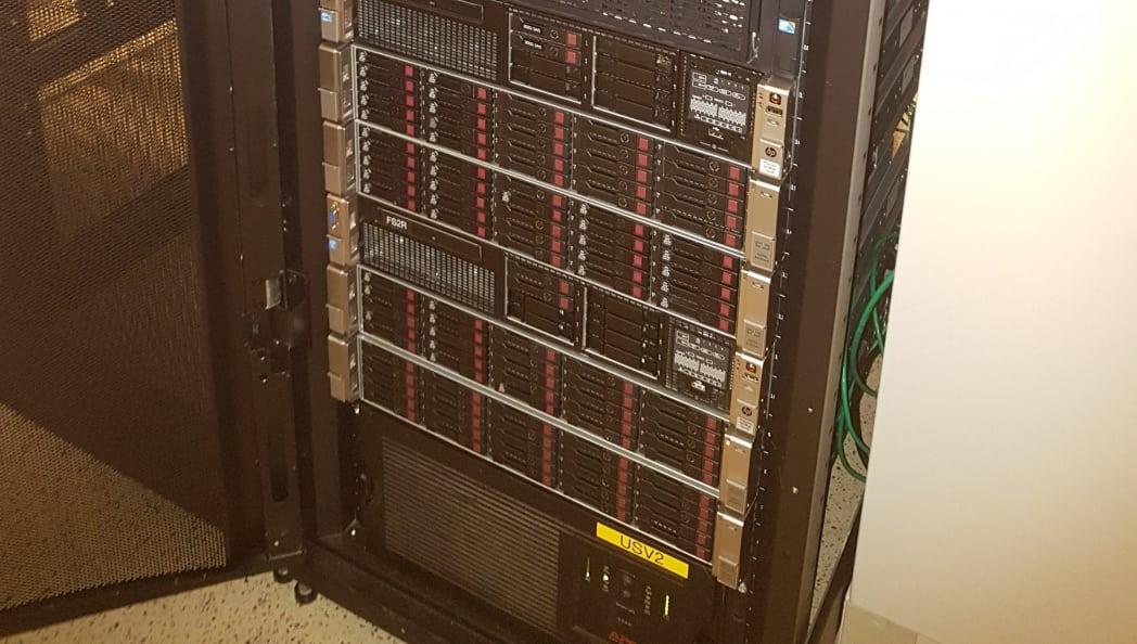 Hardware Upgrade abgeschlossen